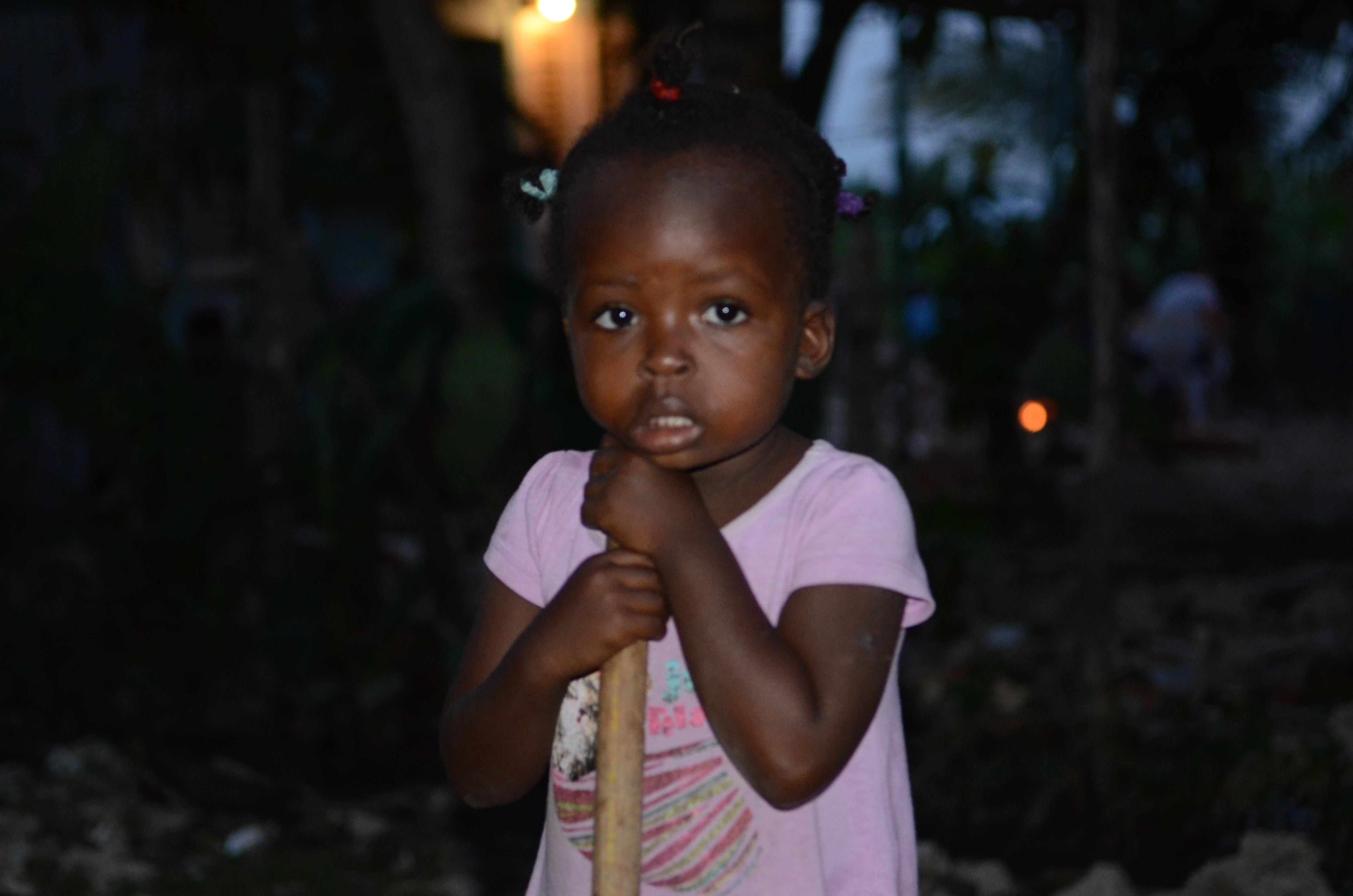 Haitin girl