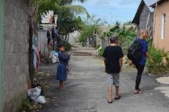 Walking the nieghbourhood with Marcus